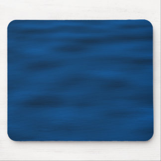 Dark Blue Water Ripples Mouse Pad