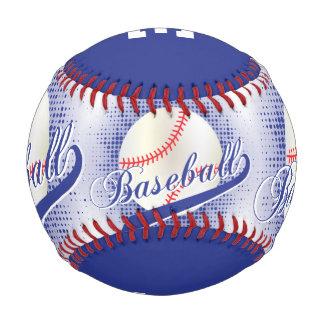 Dark Blue | White Retro Baseball Sports