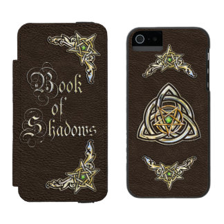 Dark Book of Shadows Wallet Case For iPhone SE/5/5s
