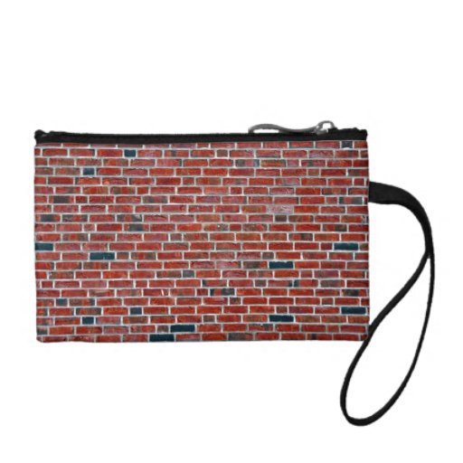 Dark Brick Wall With Variations Coin Wallet