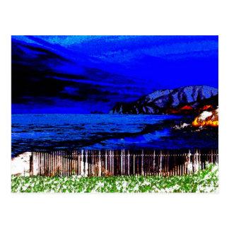 dark bright 2 postcard