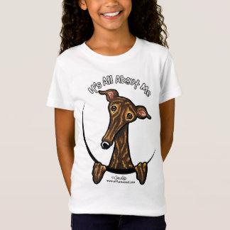 Dark Brindle Greyhound IAAM T-Shirt