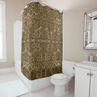 Dark Brown Shower Curtains | Zazzle