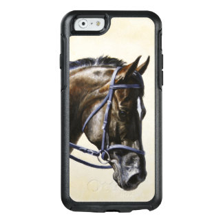 Dark Brown Bay Trakehner Dressage Horse OtterBox iPhone 6/6s Case