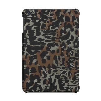Dark Brown Black Cheetah Abstract iPad Mini Retina Case