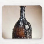Dark brown bottle, probably Nailsea Mouse Pad
