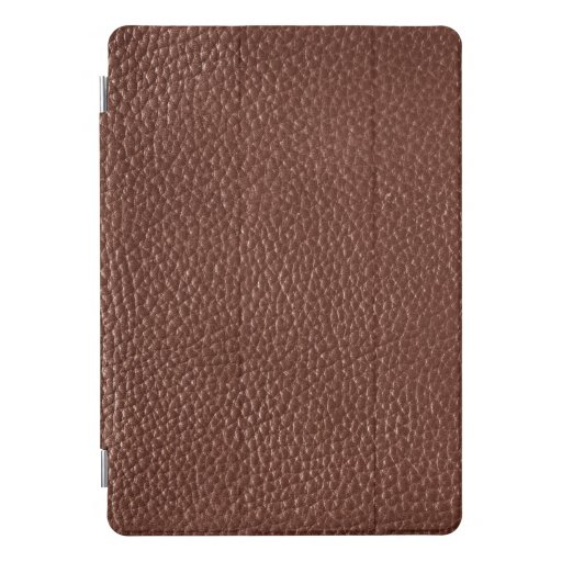 Dark Brown (Faux) Leather iPad Pro Cover