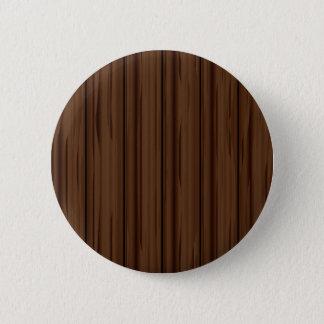 Dark Brown Fence Fence Pinback Button