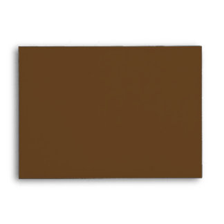 Dark Brown Keep Calm and Carry On Envelope