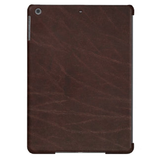 Dark Brown Leather Case For iPad Air