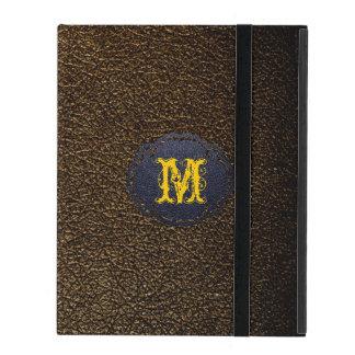 Dark Brown Leather iPad Covers