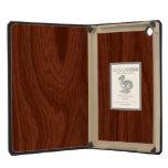 Dark Brown Mahogany Wood Pattern Woodgrain Look iPad Mini Retina Case
