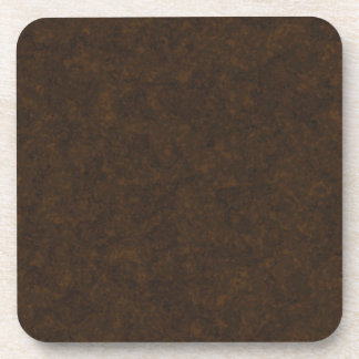 Dark Brown Pattern Drink Coaster
