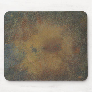Dark Brown Rust Texture Background Mouse Pad