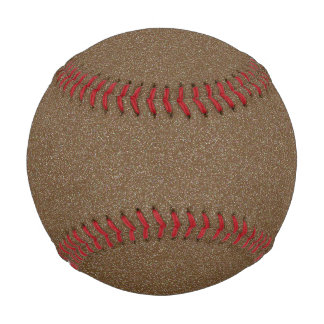Dark Brown Star Dust Baseball
