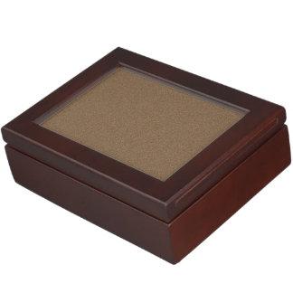 Dark Brown Star Dust Memory Box