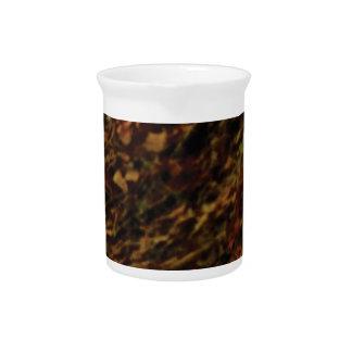 dark brown texture of land beverage pitcher