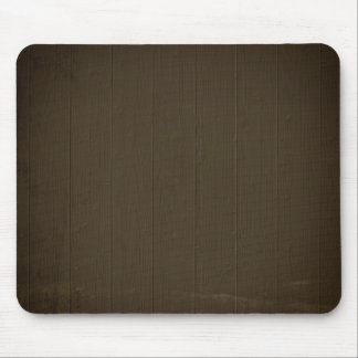 Dark Brown Wood Background Mouse Pad