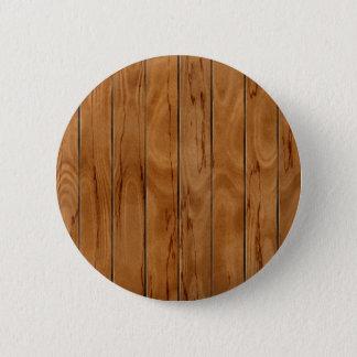 Dark brown wooden floor texture button