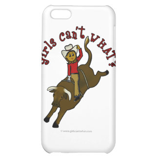 Dark Bull Rider iPhone 5C Covers