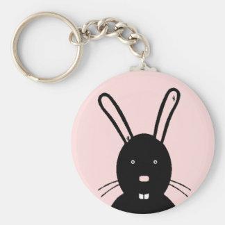Dark Bunny Keychain