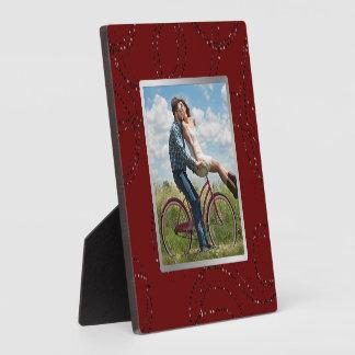 Dark Burgundy Red Wide Frame Photo
