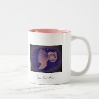 Dark Cameo Two-Tone Coffee Mug