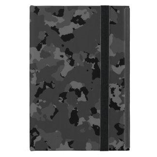 Dark Camo Pattern iPad Mini Cover