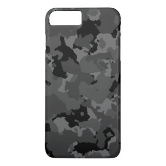 Dark Camo Pattern iPhone 7 Plus Case
