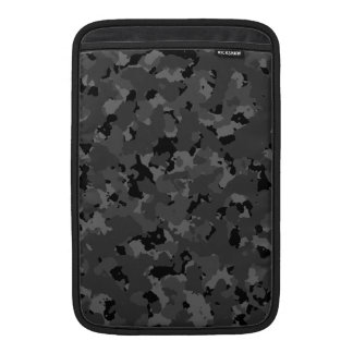 Dark Camo Pattern MacBook Sleeve