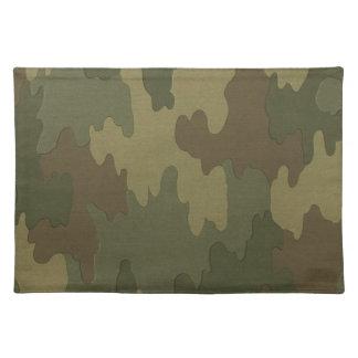 Dark Camouflage Placemat