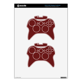 Dark Candy Apple Red (solid color) ~ Xbox 360 Controller Skin