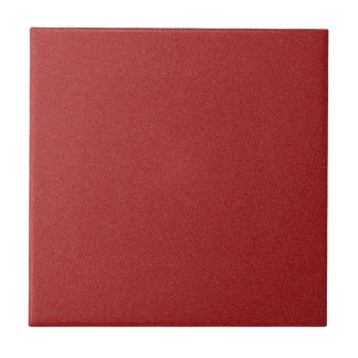 Dark Candy Apple Red Star Dust Ceramic Tile