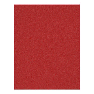 Dark Candy Apple Red Star Dust Letterhead