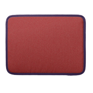Dark Candy Apple Red Star Dust Sleeve For MacBooks