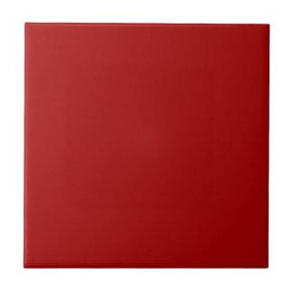 Dark Candy Apple Red Tiles