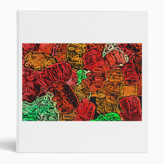 dark candy bears sketch abstract food binders
