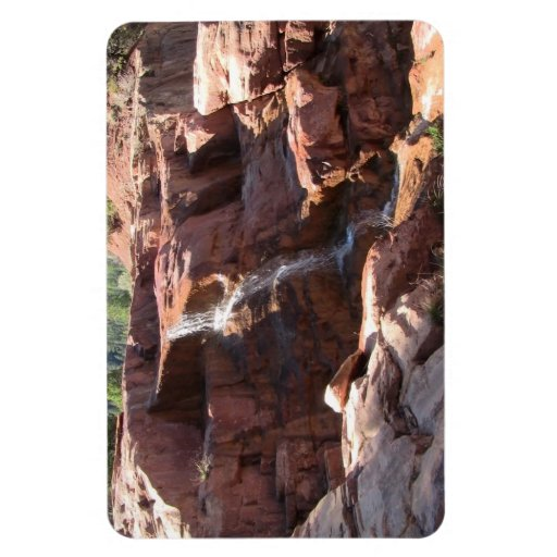 Dark Canyon Utah Landscapes Skyscapes Waterscapes Rectangular Photo Magnet