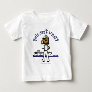 Dark Captain Girl Baby T-Shirt