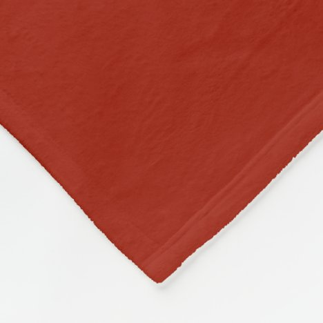 Dark Cardinal Fleece Blanket