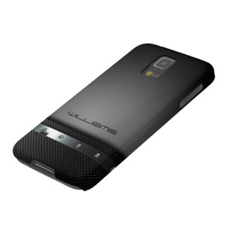 dark case with perforated plate and screws galaxy s5 cases