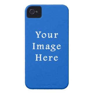 Dark Cerulean Blue Color Trend Blank Template Case-Mate iPhone 4 Case