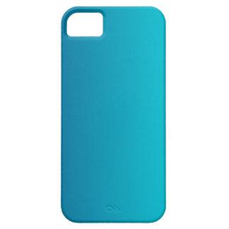 Dark Cerulean to Aqua Vertical Gradient iPhone SE/5/5s Case