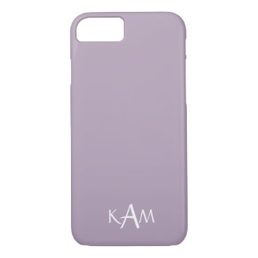 Beach Themed Dark Chalky Pastel Purple Wedding Party Gifts iPhone 7 Case