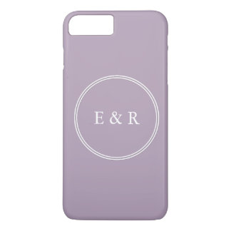 Dark Chalky Pastel Purple Wedding Party Gifts iPhone 7 Plus Case