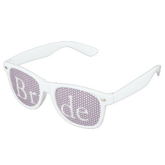 Dark Chalky Pastel Purple Wedding Party Gifts Retro Sunglasses