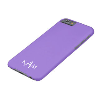 Dark Chalky Pastel Purple Wedding Party Set Barely There iPhone 6 Case