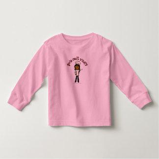 Dark Chef Girl Toddler T-shirt