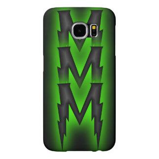 Dark Chevron Samsung Galaxy S6 Cases