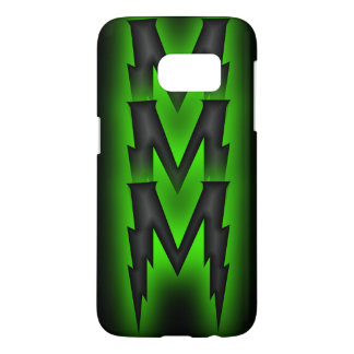 Dark Chevron Samsung Galaxy S7 Case